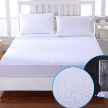 waterproof fitted white bed sheet