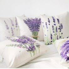 lavender pillowcase