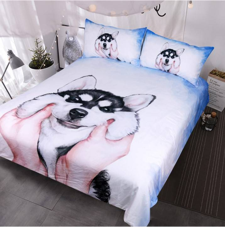 Husky Bed Set