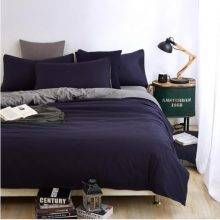 navy blue duvet cover