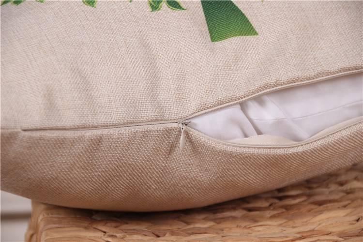 pillow cover hidden zipper