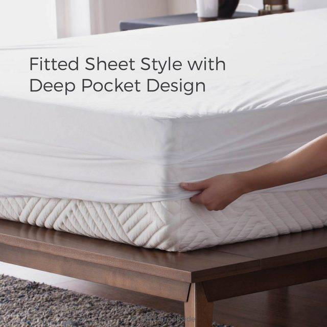 fitted sheet with deep pocket