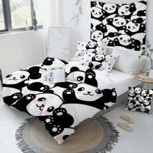 panda bedding duvet cover