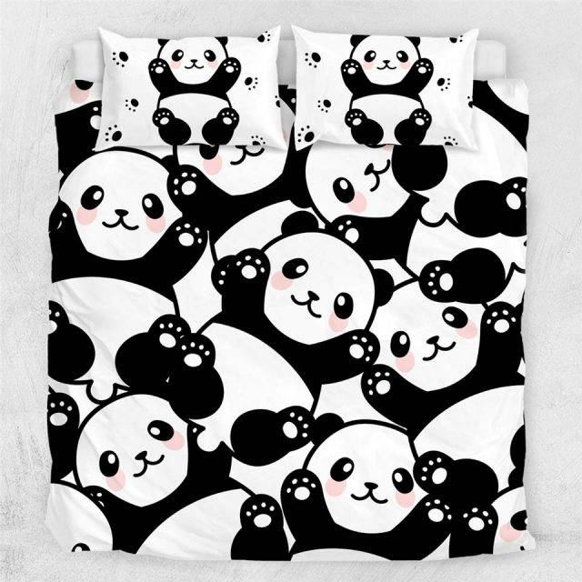 panda duvet cover