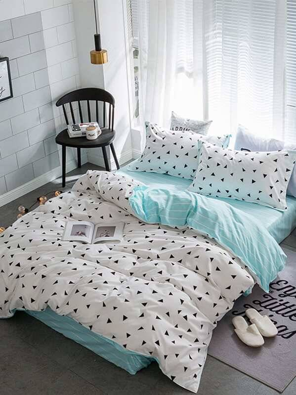 triangle duvet set