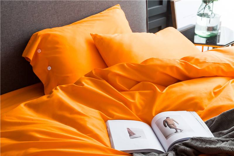 Yellow Egyptian Cotton Soft Pillows