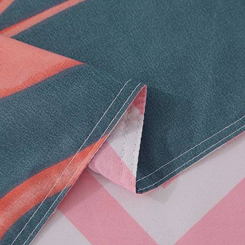 flamingo bed sheet