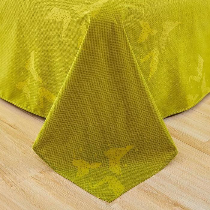 flat sheets olive gren