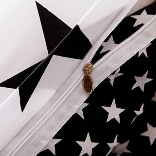 Black and White Star Duvet