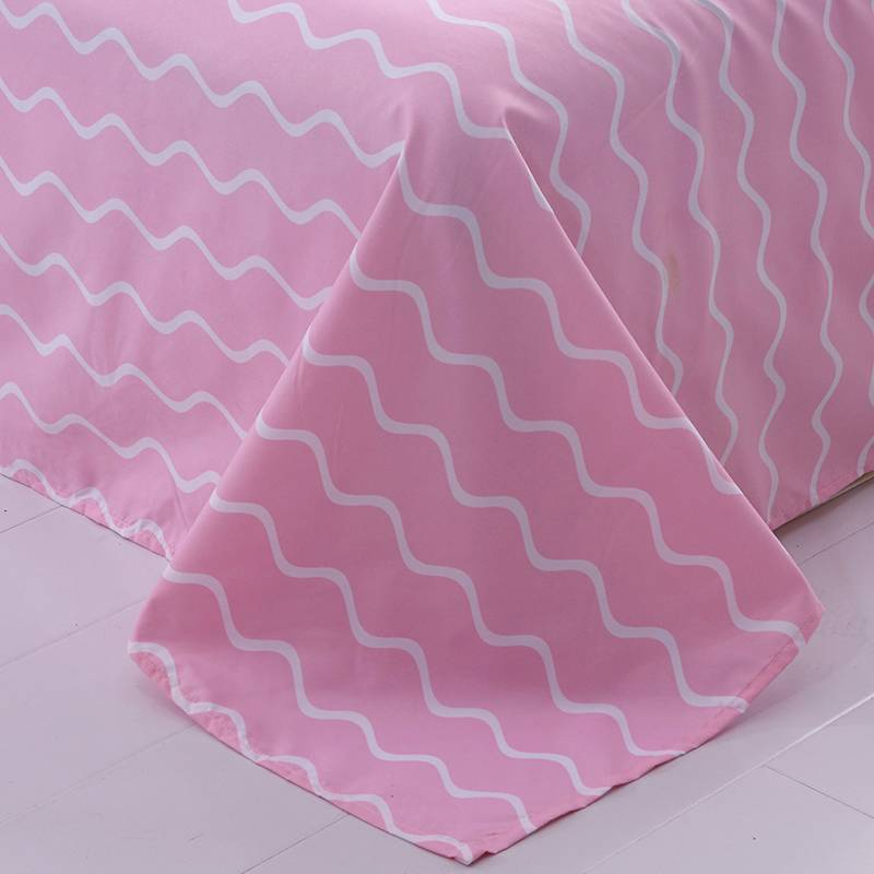 Flamingo Tropical Pink and Navy Blue Bedding Set