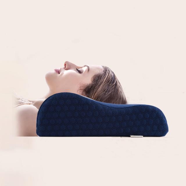 Orthopedic Memory Foam Neck Pain Relief Pillow