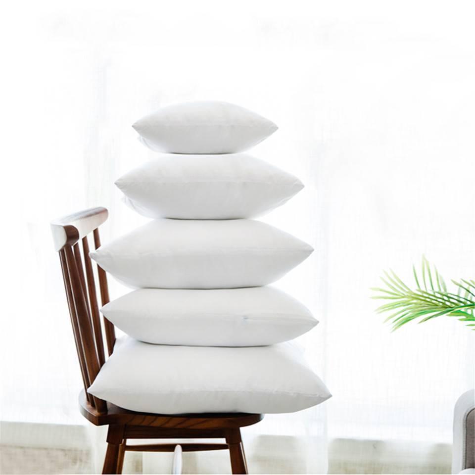 White Cushion Insert Soft for Car