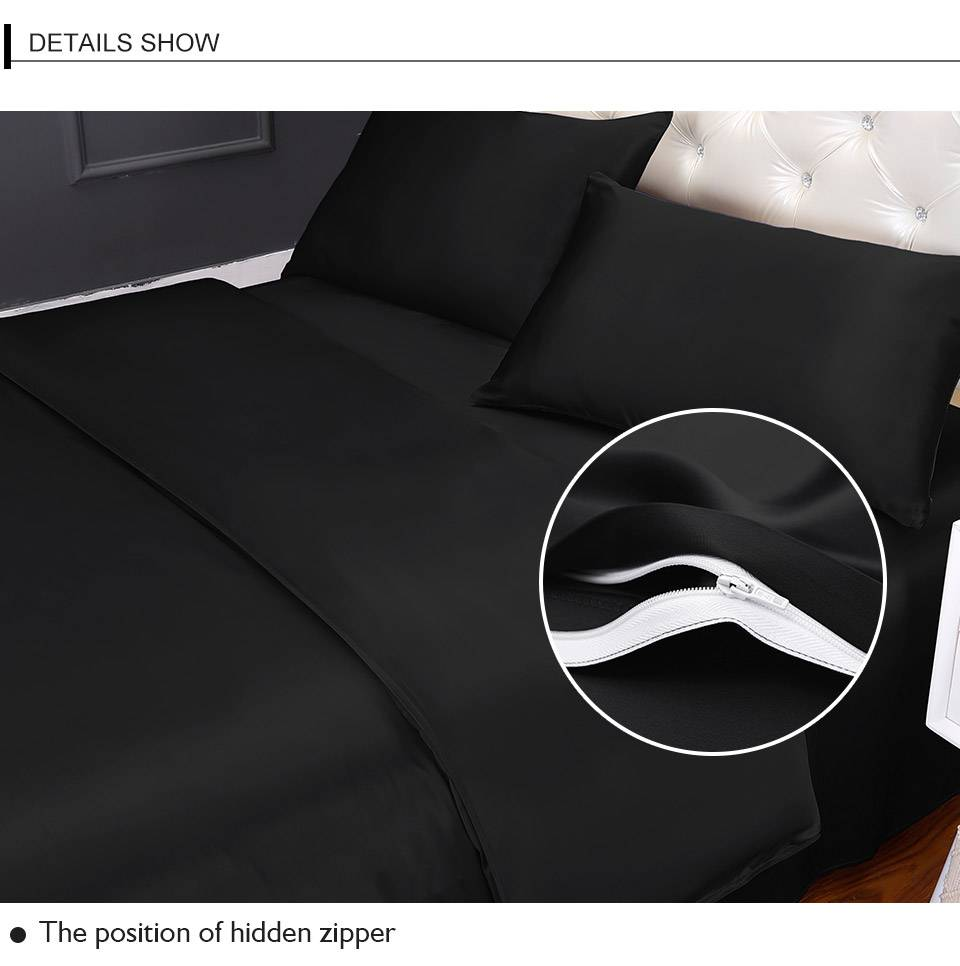 bedding black