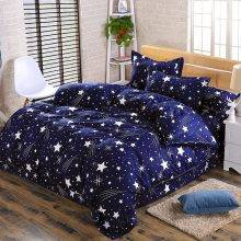 cartoon star duvet cover 4pc bed set