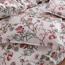 Modern Floral Duvet Cover With Birds Floral Duvet Covers