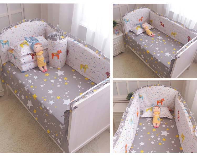 gender neutral baby crib bumpers