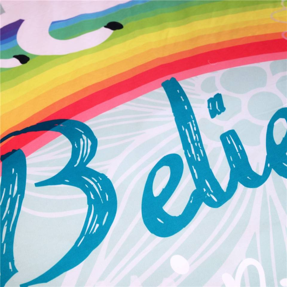 Believe in Miracles Microfiber Child Bedding Set