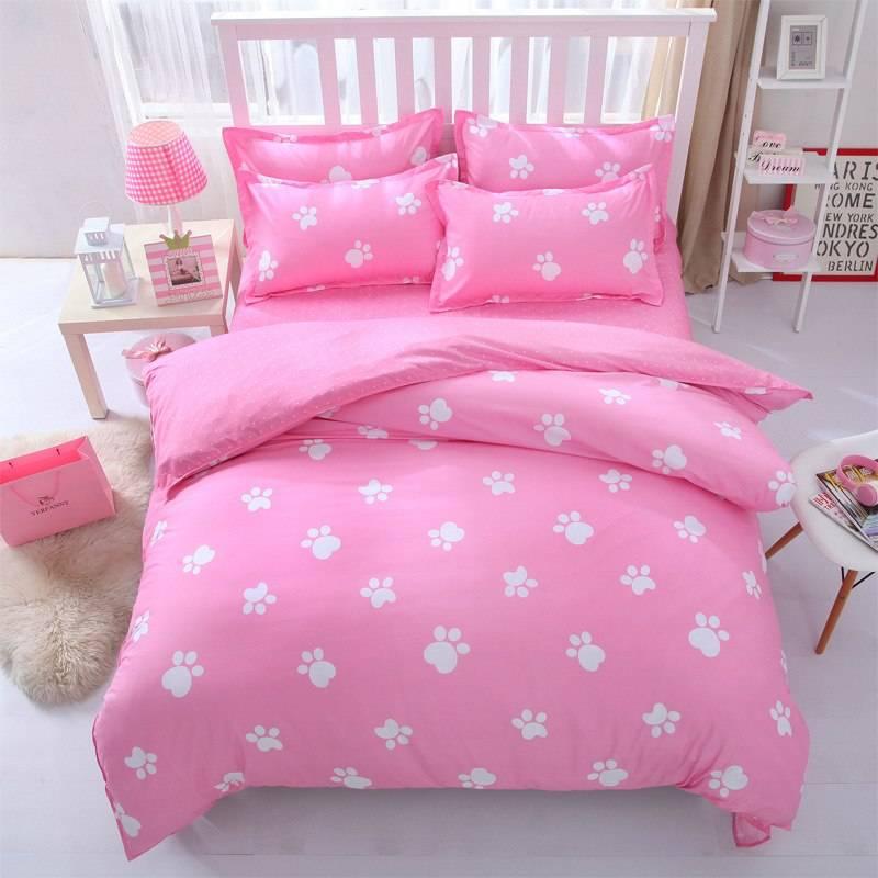 Funny Cartoon Style Cotton Bedding Set