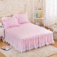 Boudoir Style Ruffled Bed Skirt (5 Colors)