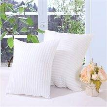 Striped Soft Cotton Pillow Insert