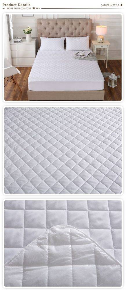Waterproof Mattress Protector Quilted Micro fiber