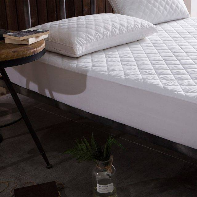 Waterproof Quilted Microfiber Bed Cover Mattress Protector