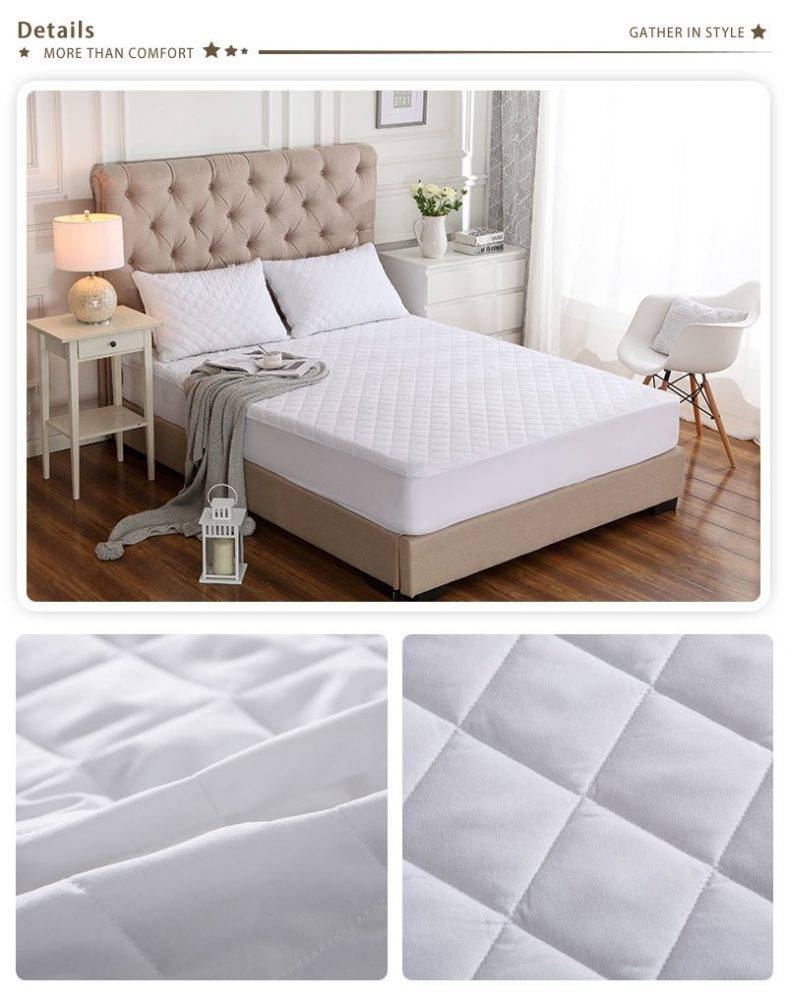 Waterproof Bed Cover Mattress Protector Quilted