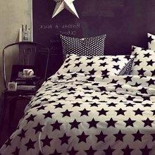Panda Black and White Duvet Cover Bedding Set