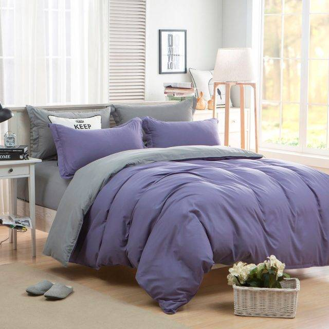 Solid Colors Deluxe Brushed Duvet Cover Bedding Set (23 Colors)