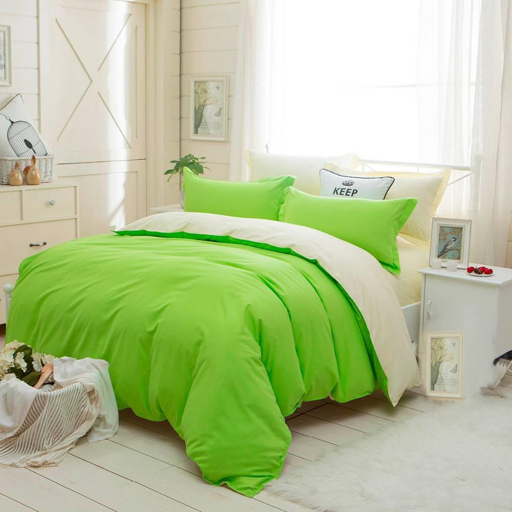 Solid Colors Bedding Set Duvet Cover (23 Colors)