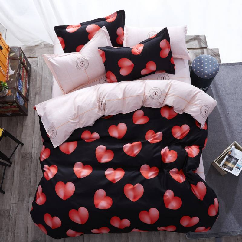 Cartoon Style Duvet Cover Bedding Set (29 types)