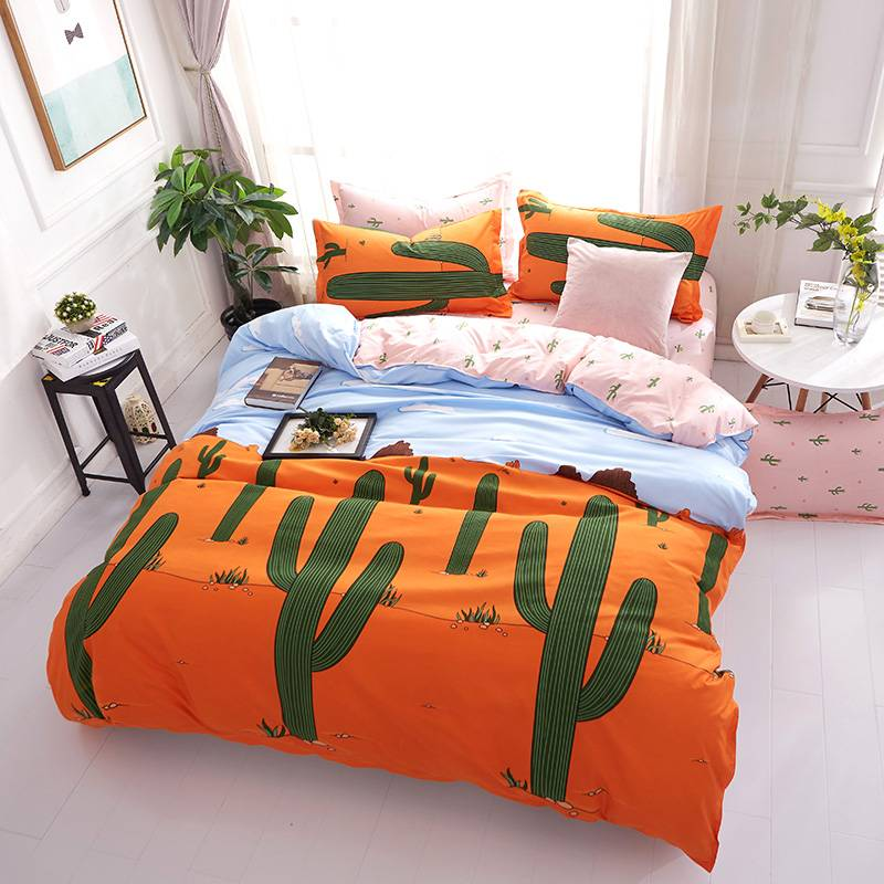 Summer Cartoon Style Duvet Cover Bedding Set (29 types)