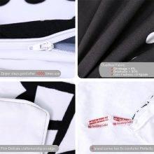 Black and White Mandala Duvet Cover Bedding Set (6 Sizes)