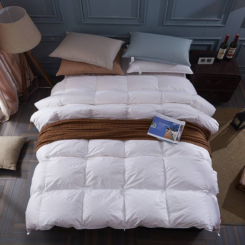 100 Goose Down Quilted Comforter