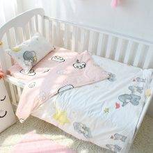 3 pcs set Baby Bedding Set Including Duvet Cover Pillowcase Bed Sheet Pure Cotton Baby Linen Baby Crib Set For Both Girl and Boy