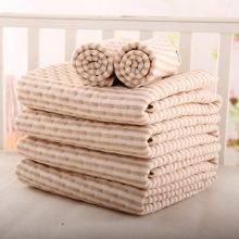 Organic colored cotton + Waterproof EVA Layer Baby Changing Mat Bebe Waterproof Changing Urine Pad Bed Sheets for Newborn