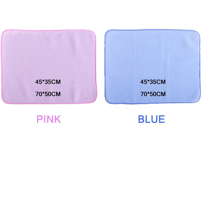 30*45cm/50*70cm Reusable Baby Kids Waterproof Mattress Bedding Diapering Changing Mat 3d bamboo fiber Washable breathable