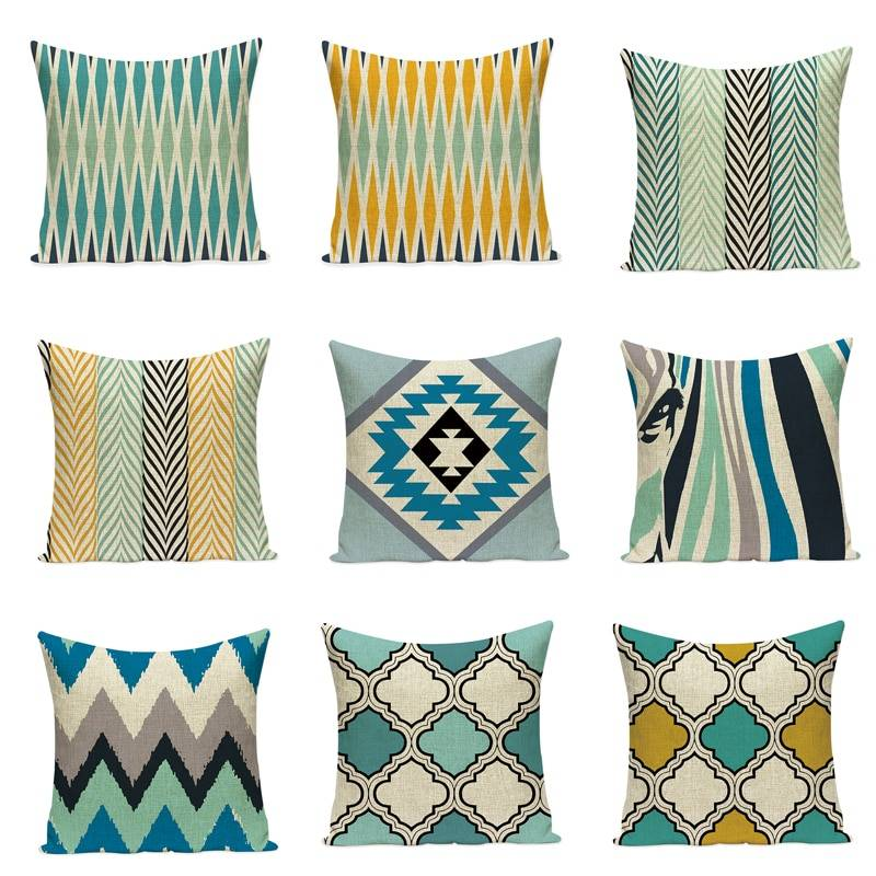 Geometric Moroccan Decorative Throw Pillows 9 Styles