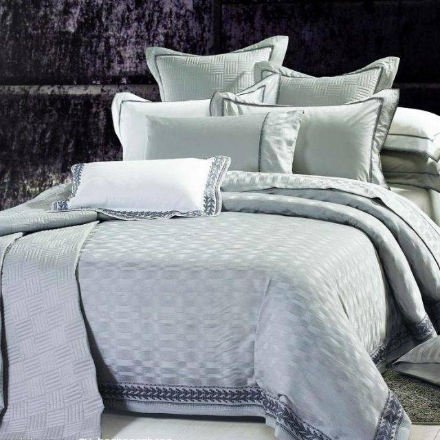 bed linen pillows comforter and mattress