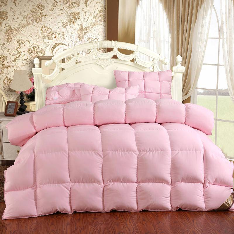 goose down comforter rose
