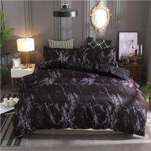 Marble Pattern Bedding Sets Duvet Cover Set 2/3pcs Bed Set Twin Double Queen Quilt Cover Bed linen (No Sheet No Filling)