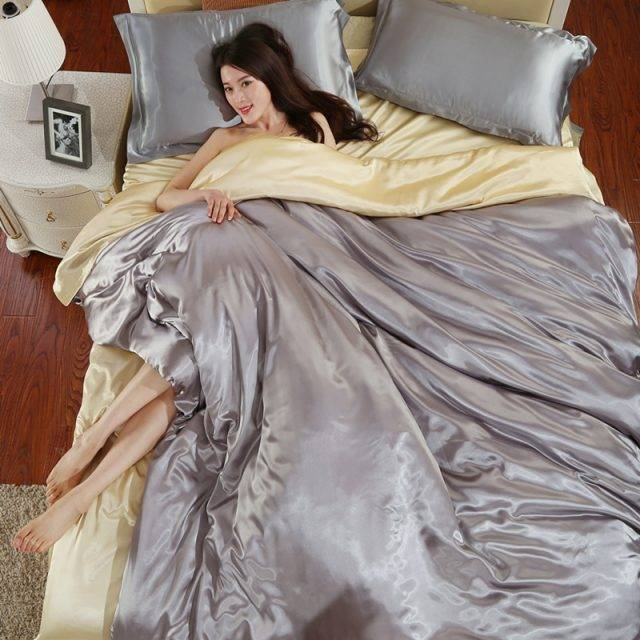 Gloss Satin Duvet Cover (18 colors)