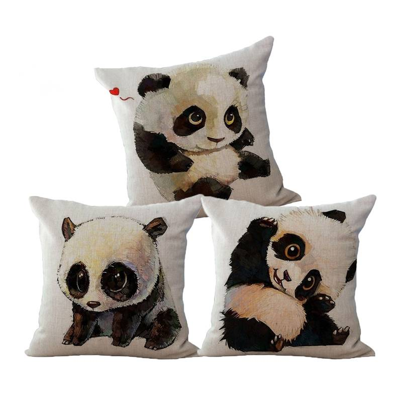 Cute Panda Bear Pillow
