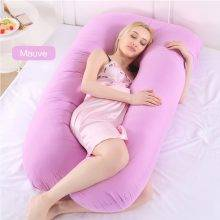 Sleeping Body Support Maternity Pillow Mauve