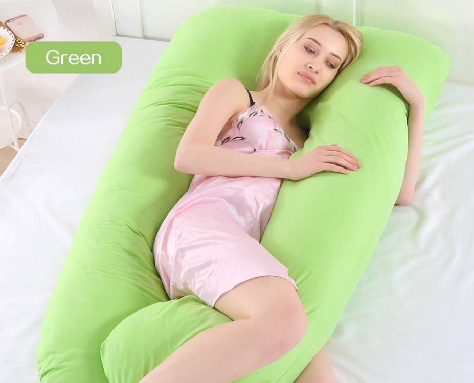 Body Sleep Support Pillow Green