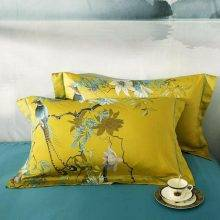 Rococo Chinoiserie Bedding Set - Egyptian Cotton Animal Duvet Covers Floral Duvet Covers Luxury Duvet Covers