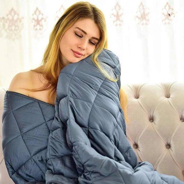 weighted blanket for deep sleep