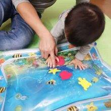 Inflatable Tropical Water Mat for Toddlers