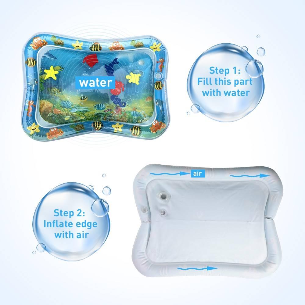 Inflatable Aquarium Mat for Toddlers