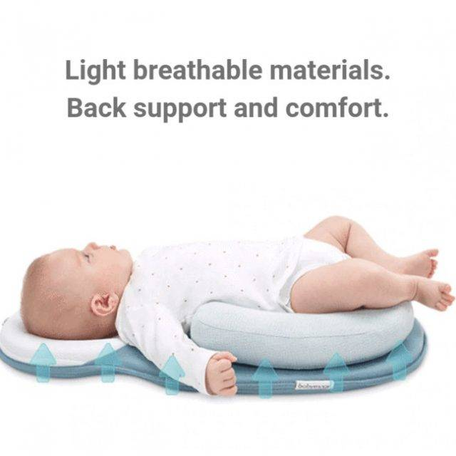 Panda Portable Baby Bed™ With Adjustable Pillow